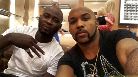 Best Man Banky W and Groom To Be