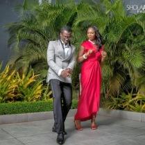 Anita and hubby Paul Okoye pre-wedding photos