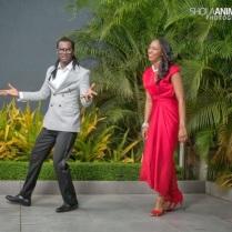 Bride and groom paul and anita okoye
