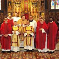 fr jo with other priests