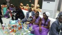 Goodluck Jonathan's Daughter's White wedding pics 12/04/2014 egosentrik.com