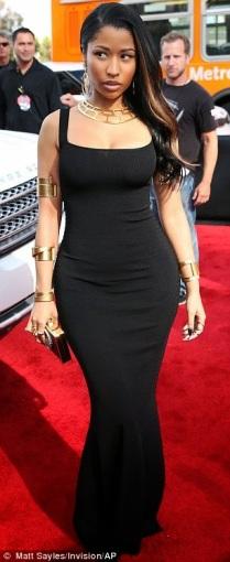 Nicki Minaj at the MTV Awrads 2014