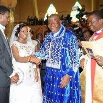 President Jonathan's daughter's wedding 9