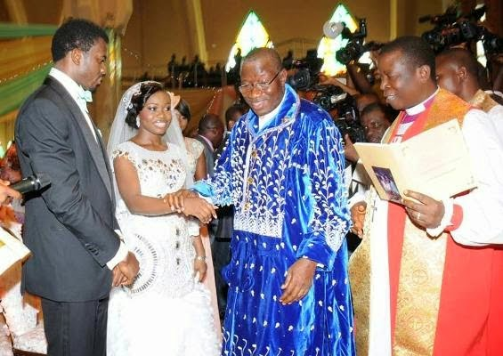President Jonathan's daughter's wedding 9