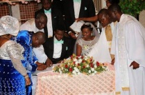 President Jonathan's daughter's wedding 12/04/2014