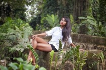 yvonne Nelson for Y Magazine