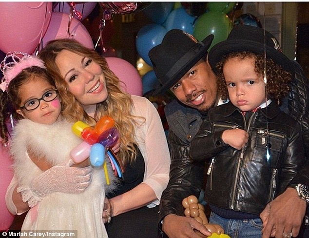 mariah carey and family