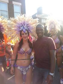 At The Nottinghill Carnival