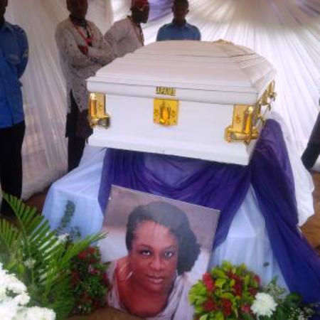 Amaka Igwe buried