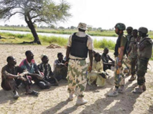 boko haram in Sambisa forest
