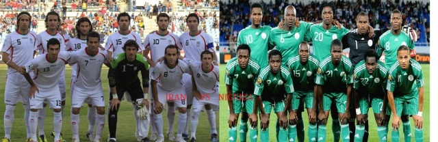 Iran vs Nigeria 16th June 2014