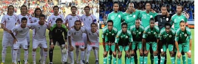 Iran vs Nigeria 16th June 2014