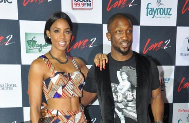 Kelly Rowland and Dare 'Art' Alade